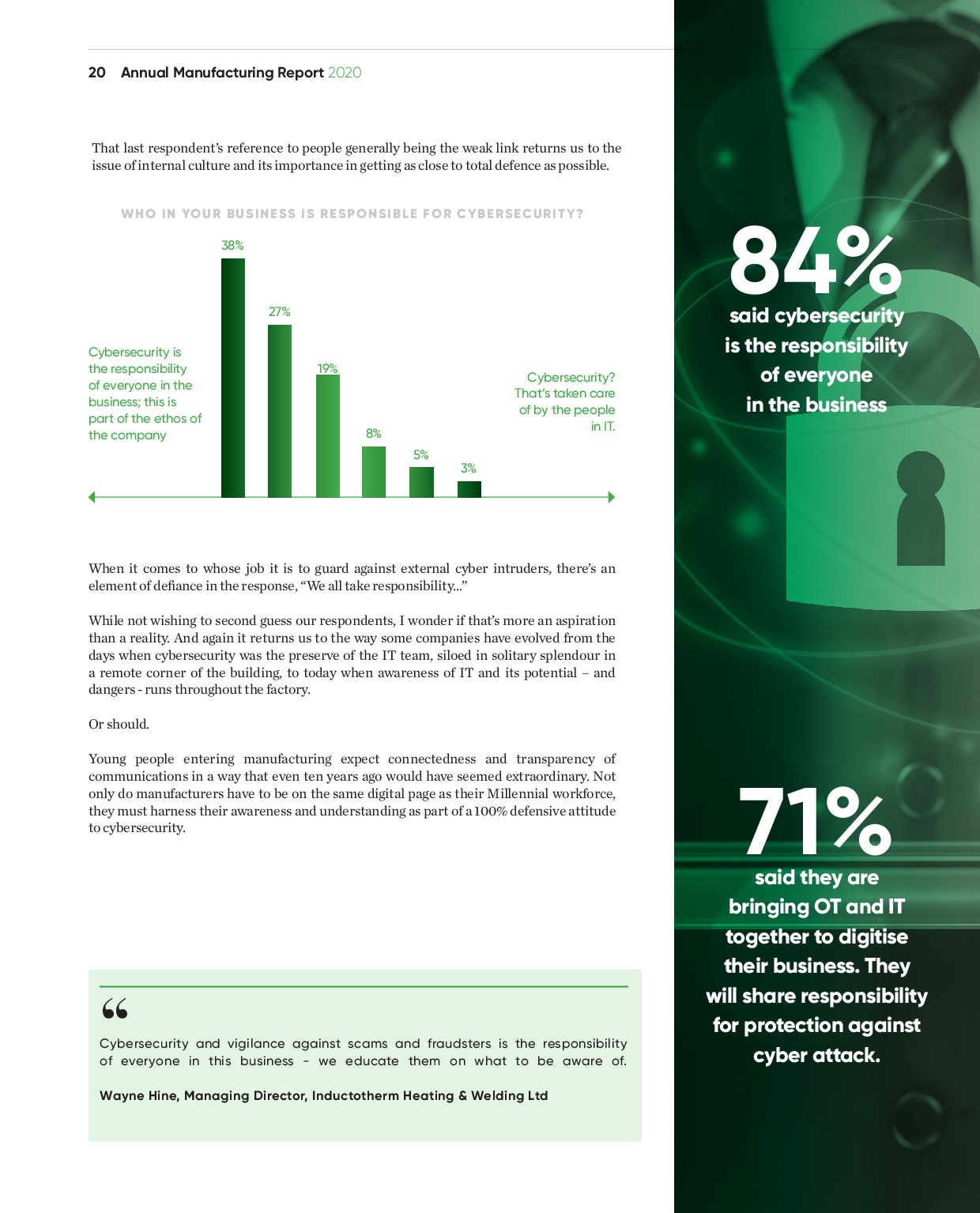 Annual Manufacturing Report 2020   Page 20