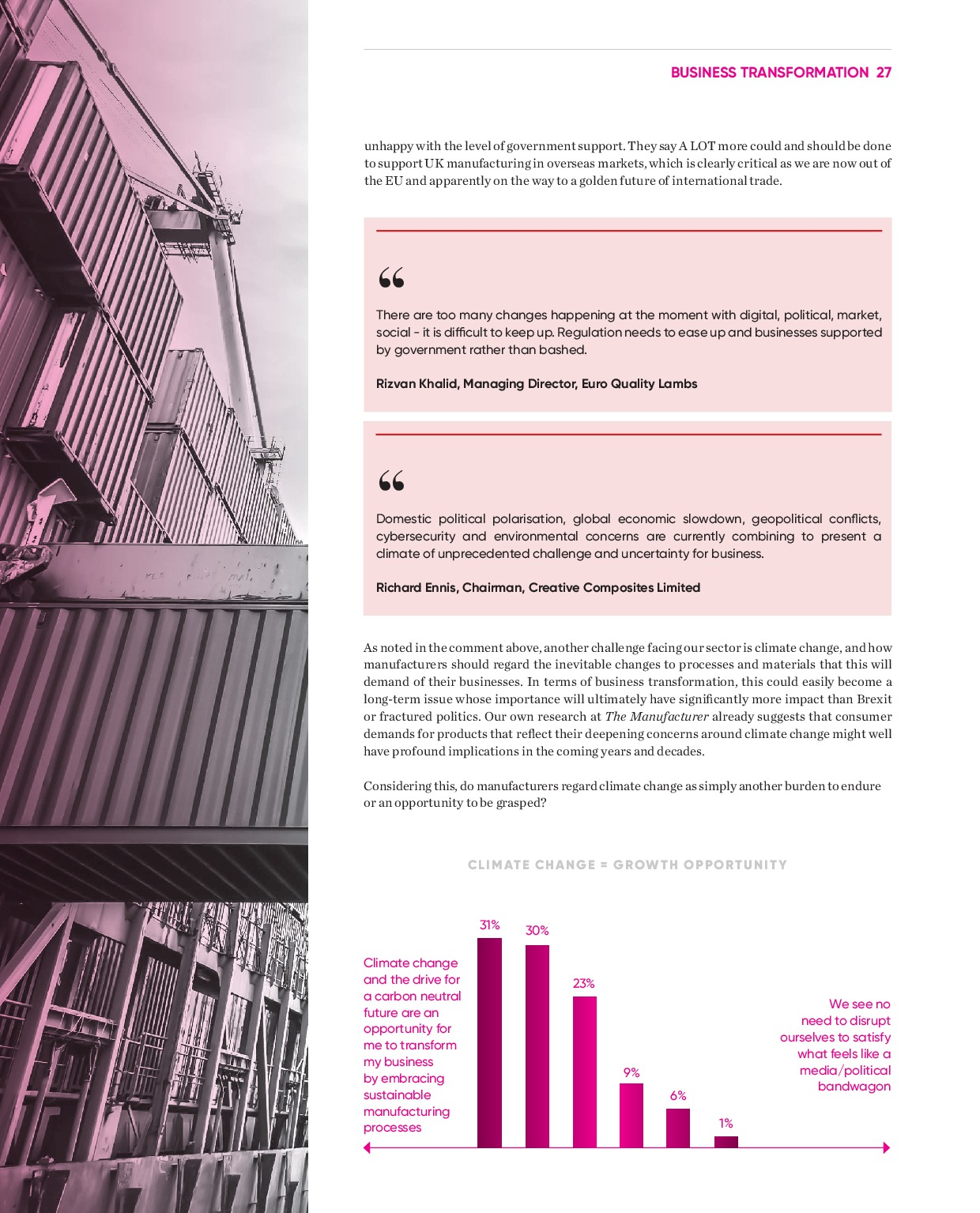 Annual Manufacturing Report 2020   Page 27