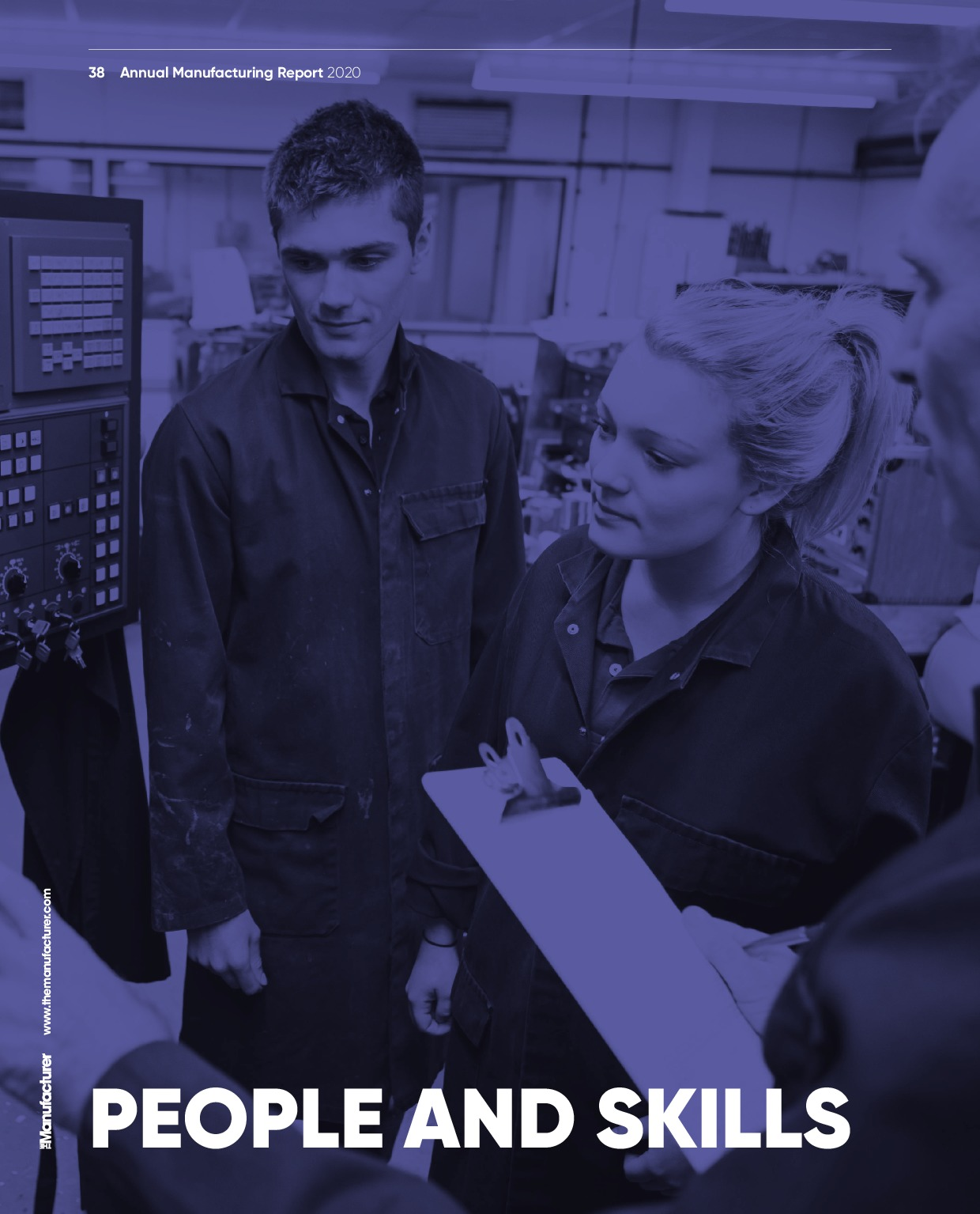Annual Manufacturing Report 2020   Page 38