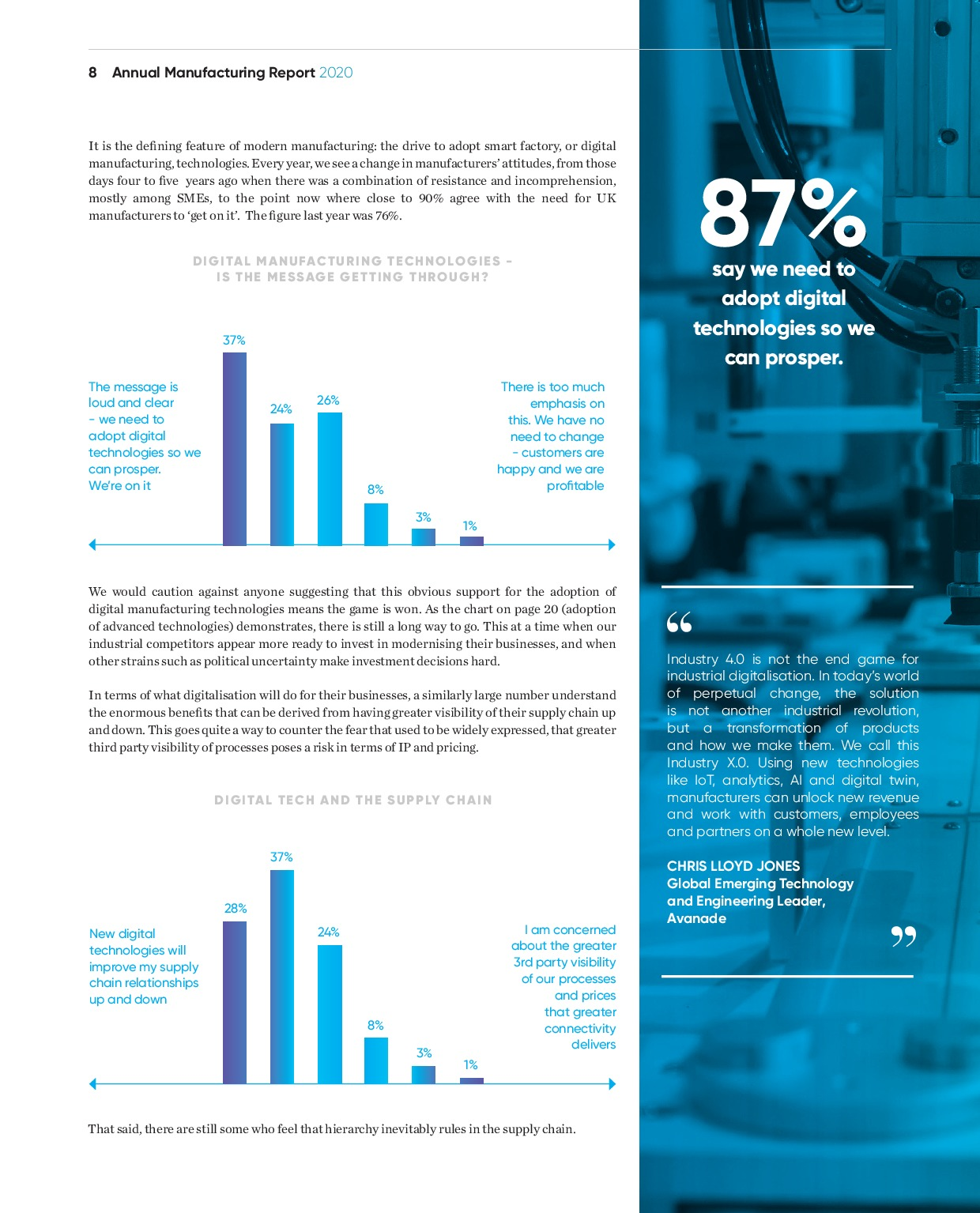 Annual Manufacturing Report 2020   Page 8