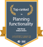 Barc planning functionality badge