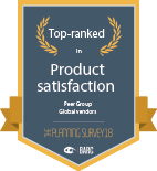 BARC product satisfaction badge