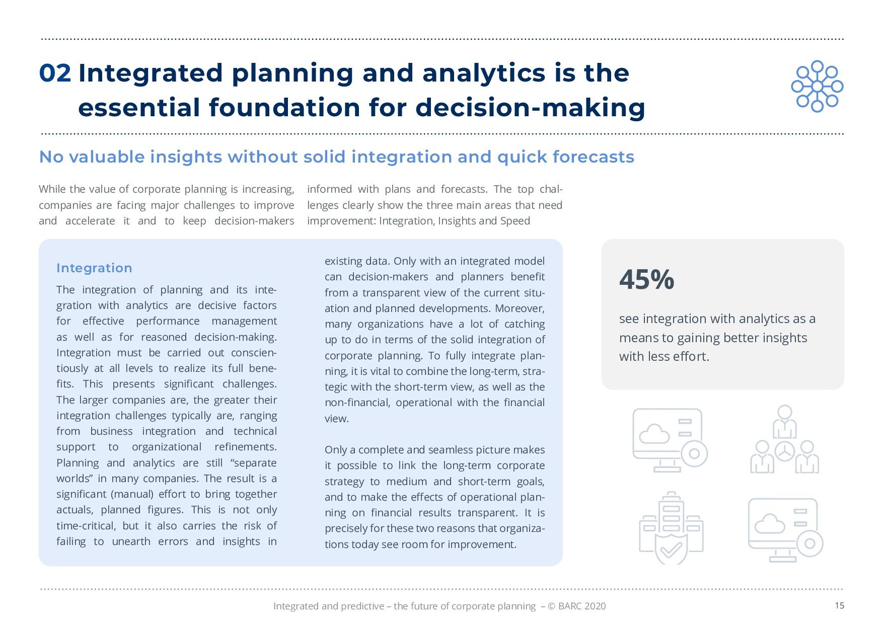 BARC – 統合と予測 – 経営計画の未来 | Page 15