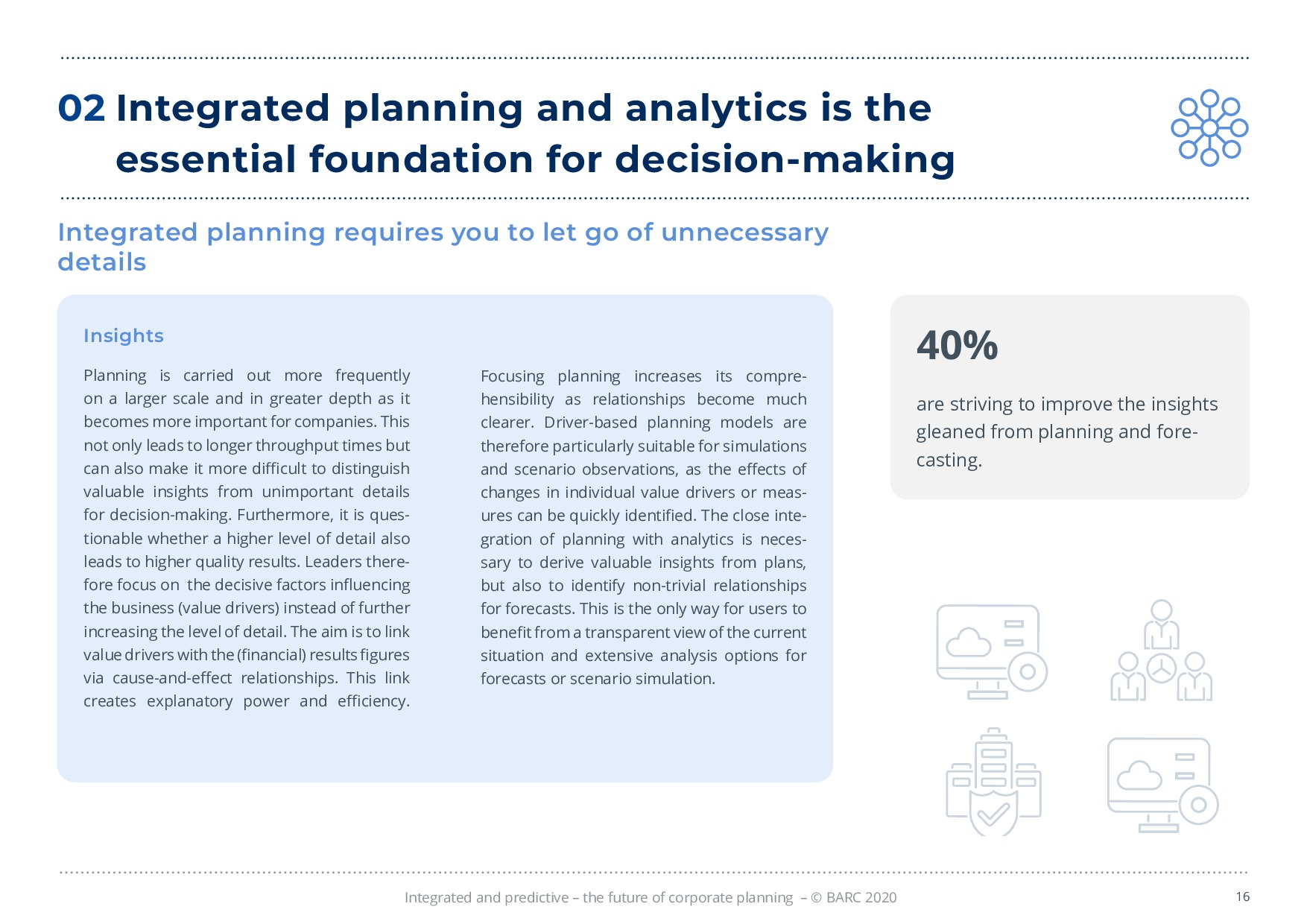 BARC – 統合と予測 – 経営計画の未来 | Page 16