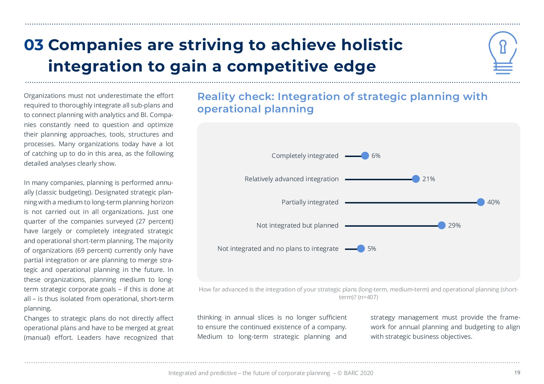 BARC – 統合と予測 – 経営計画の未来 | Page 19