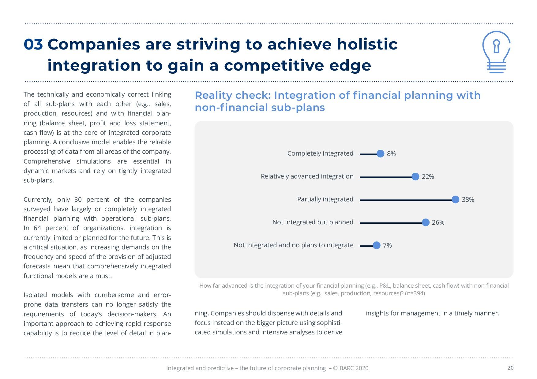 BARC – 統合と予測 – 経営計画の未来 | Page 20