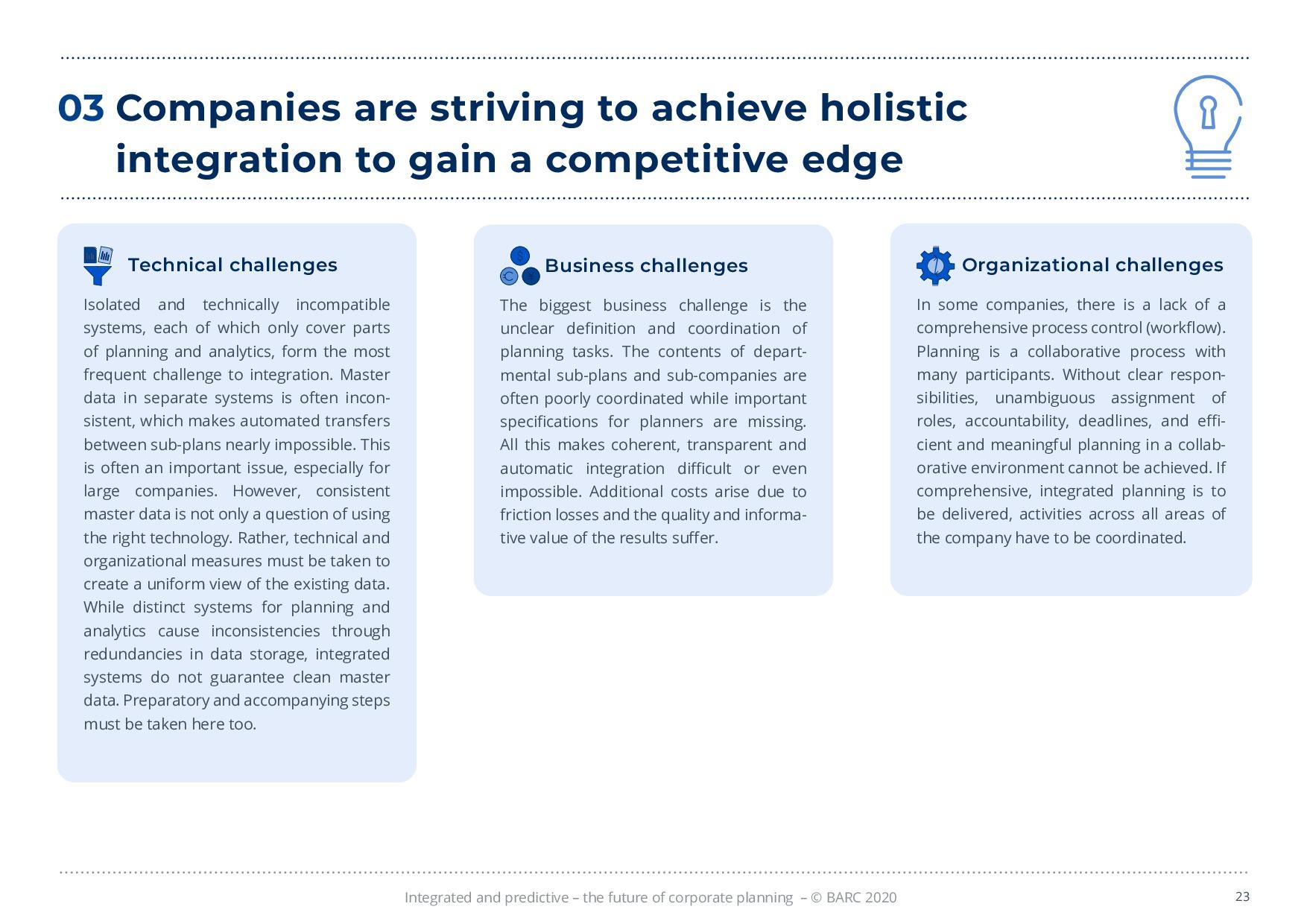 BARC – 統合と予測 – 経営計画の未来 | Page 23