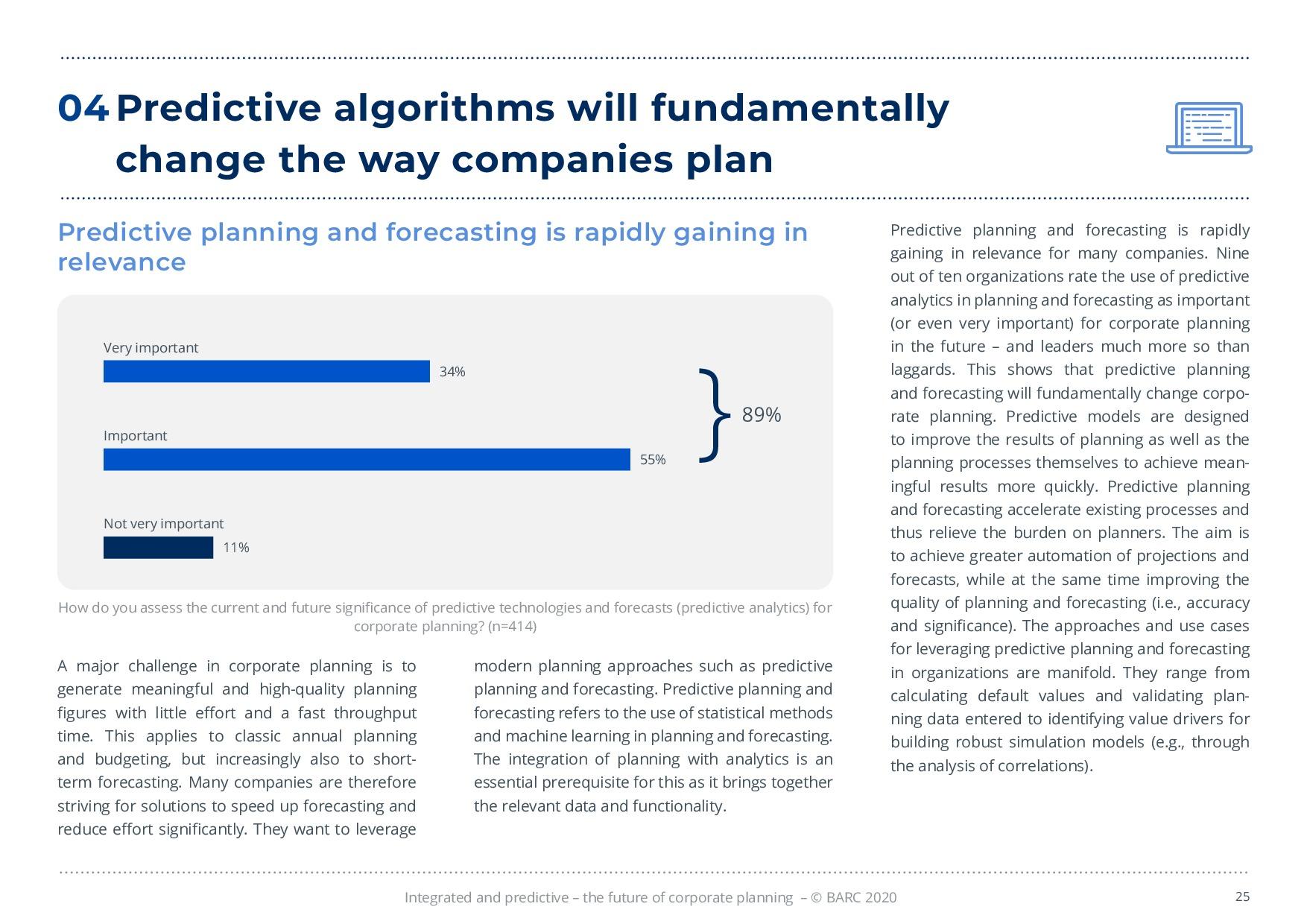 BARC – 統合と予測 – 経営計画の未来 | Page 25