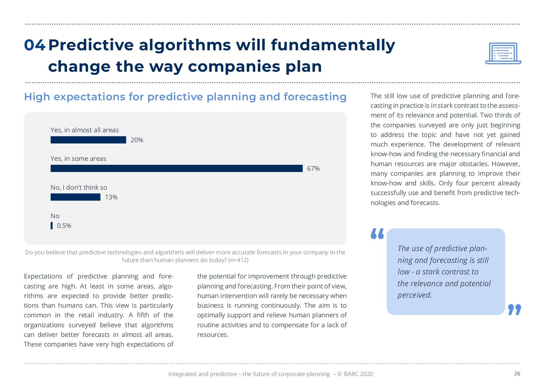 BARC – 統合と予測 – 経営計画の未来 | Page 26