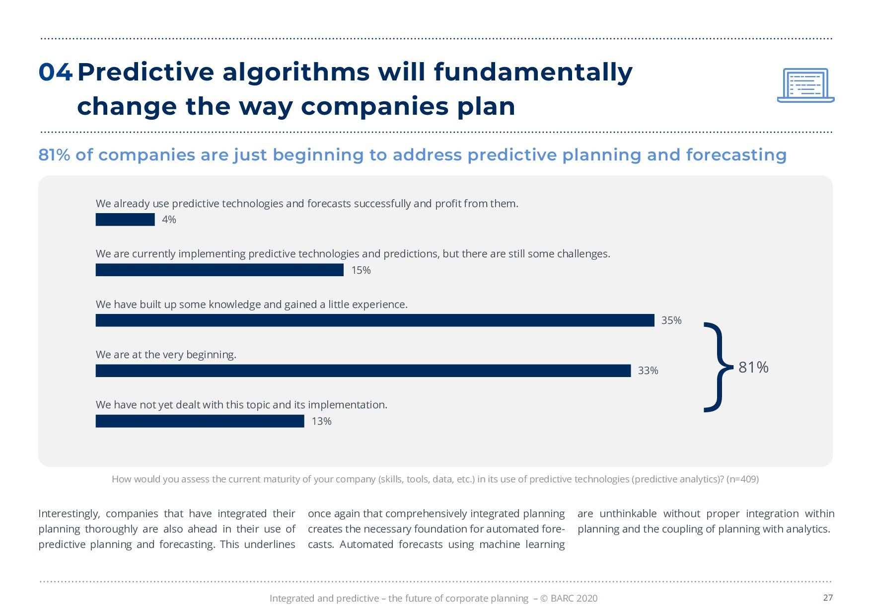 BARC – 統合と予測 – 経営計画の未来 | Page 27