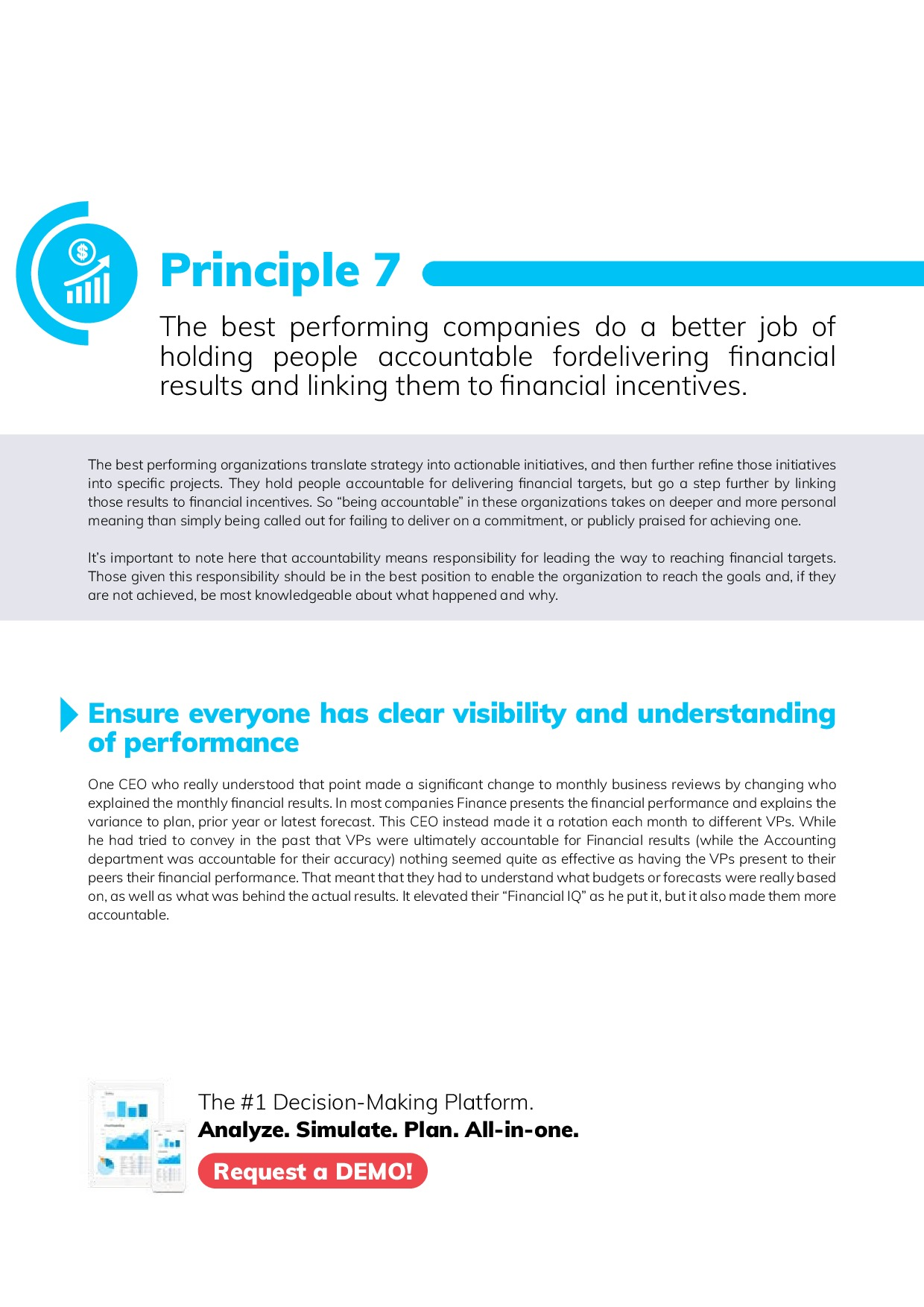 12 Best Practices in FP&A | Page 16