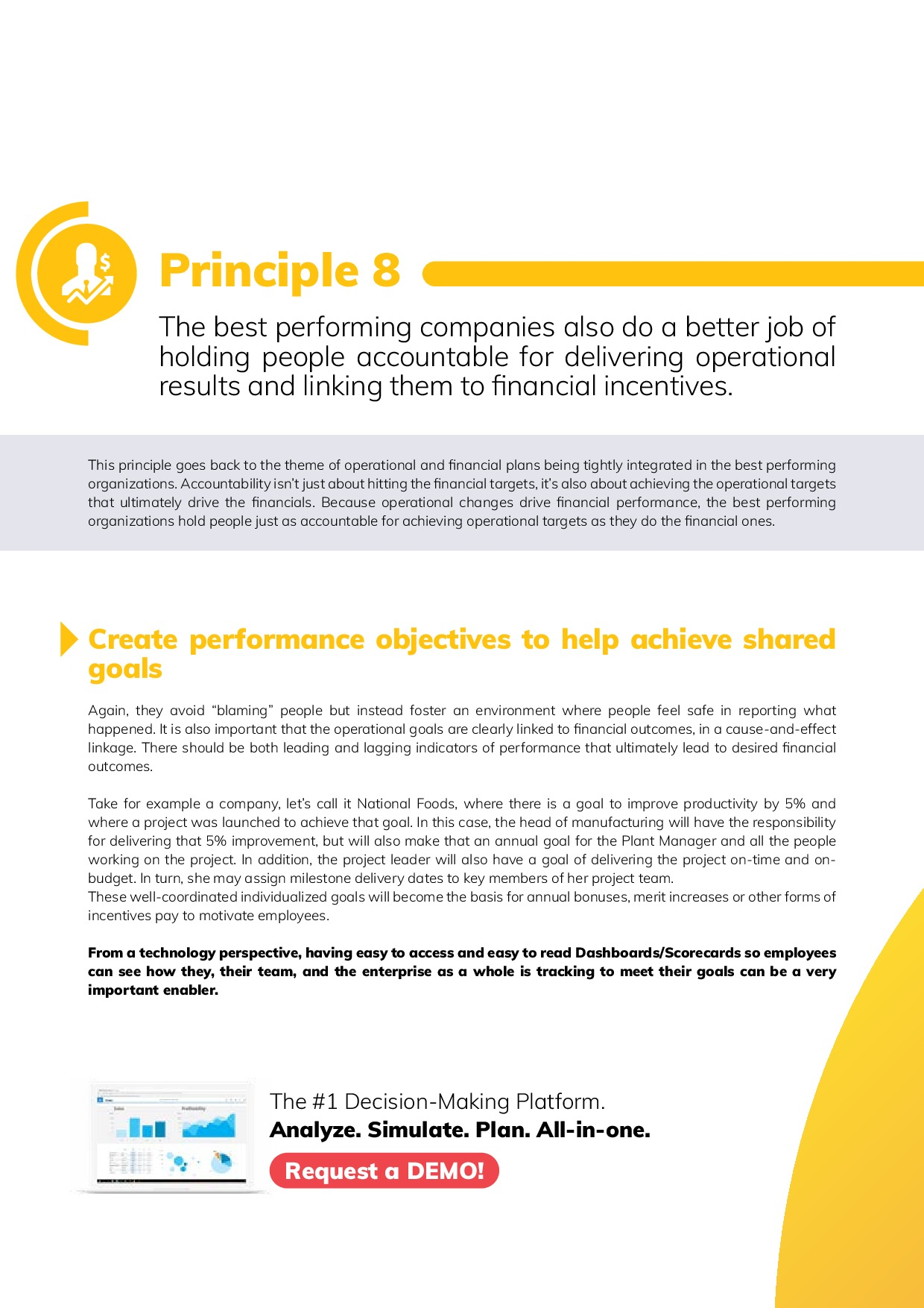 12 Best Practices in FP&A | Page 18