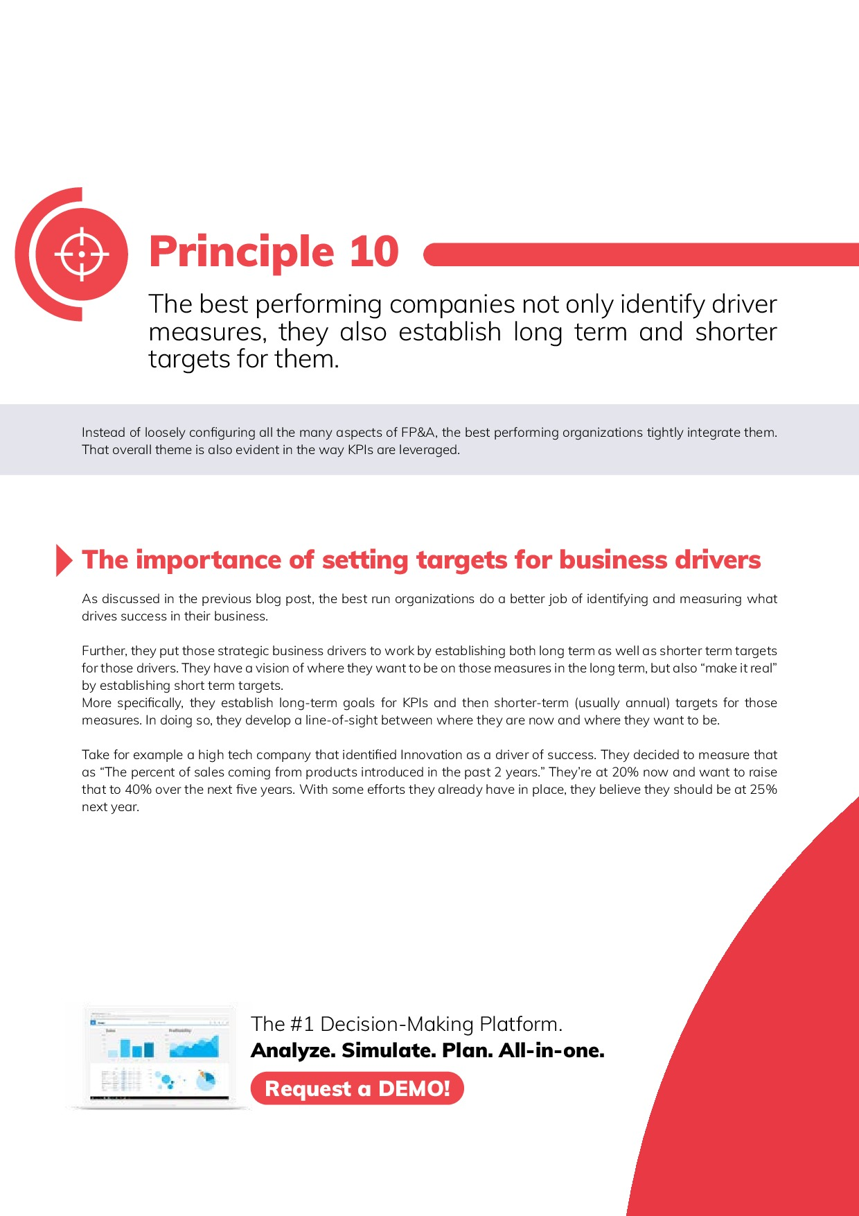 12 Best Practices in FP&A | Page 22