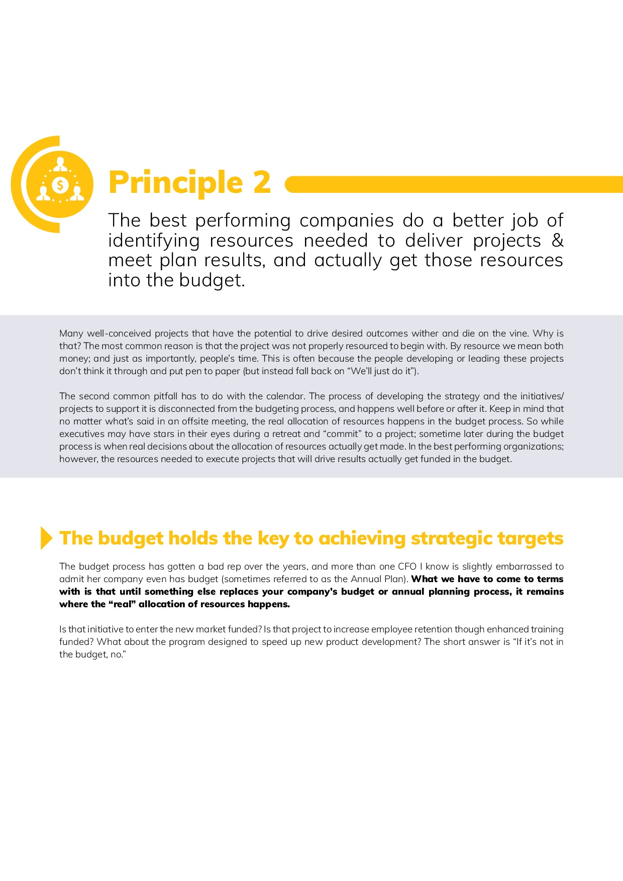 12 Best Practices in FP&A | Page 6