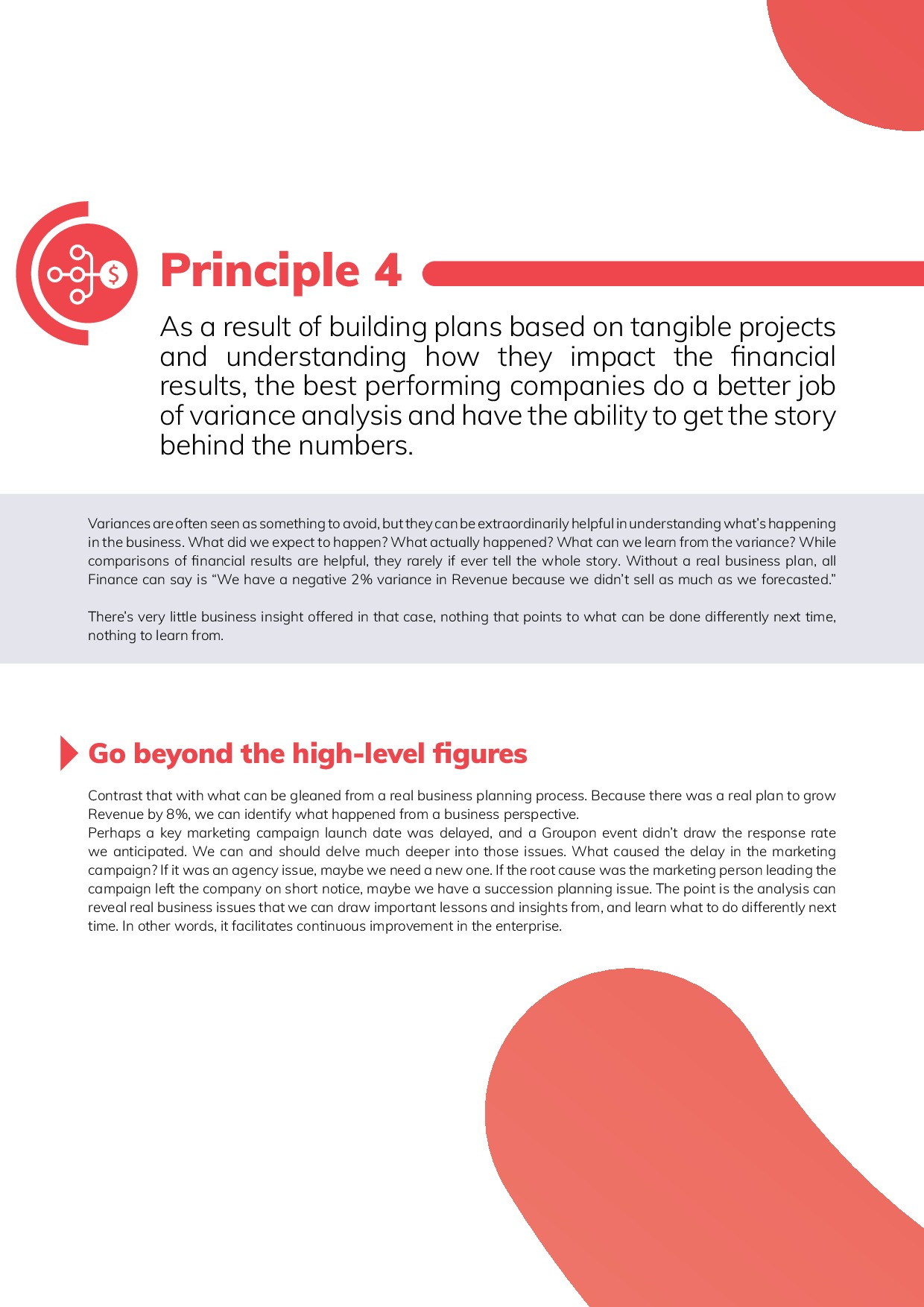 12 Best Practices in FP&A | Page 10