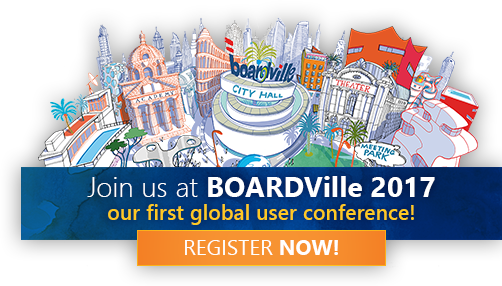Join us in BOARDVille 2017