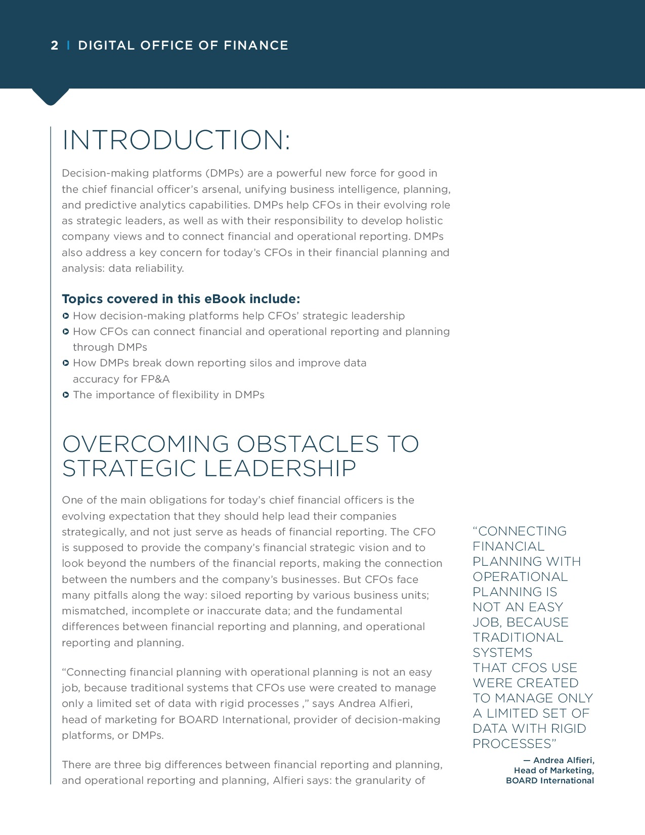CFO - How Decision-Making Platforms Transform Financial Reporting and FP&A | Page 2