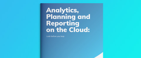 Analytics, Planning and Reporting on the Cloud