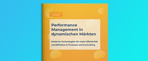 Performance Management in dynamischen Märkten – BARC-Studie 2020