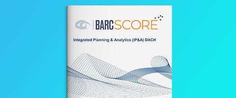 DACH BARC Score – Integrierte Planung & Analytics 2021