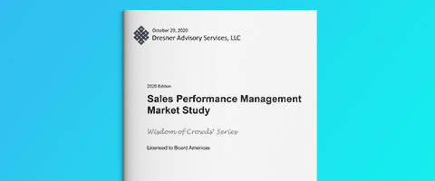 Dresner Advisory – Sales Performance Management Marktstudie 2020