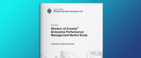Dresner Advisory – Enterprise Performance Management Marktstudie 2020