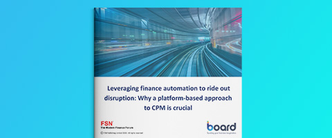 FSN – Leveraging finance automation to ride out disruption: Why a platform-based approach to CPM is crucial