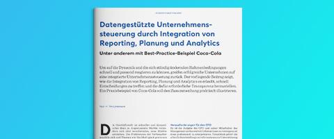 REthinking Finance: Datengestützte Unternehmenssteuerung durch Integration von Reporting, Planung und Analytics