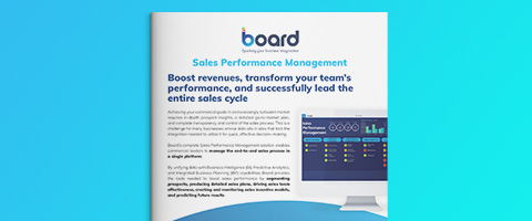 Sales Performance Management - Flyer
