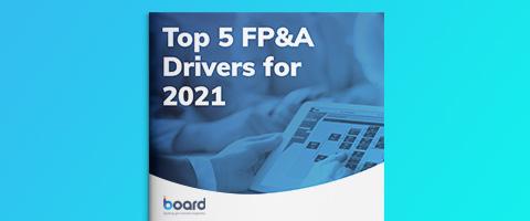 2021 FP&A推進のための5つの重要項目