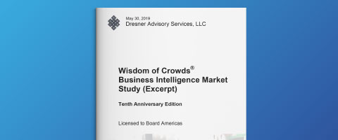 Dresner Advisory - Business Intelligence Market Study 2019