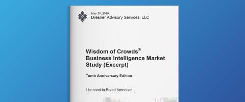 Dresner Advisory – ビジネスインテリジェンス(BI)市場調査2019