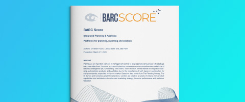 Global BARC Score Integrated Planning and Analytics 2020