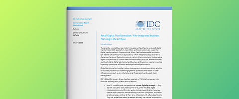 IDC Technology Spotlight: Digitale Transformation im Einzelhandel