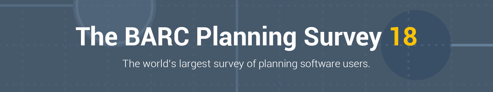 BARC – The Planning Survey 2018