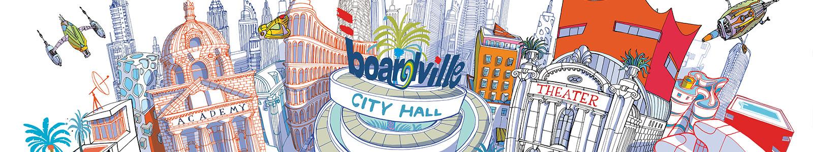 Melbourne BOARDVille Event - LightARC