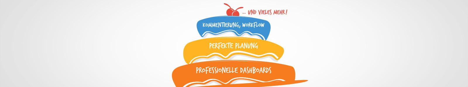 Mit uns kriegen Sie' s gebacken – Dashboards und Planung mit Profis für Profis!