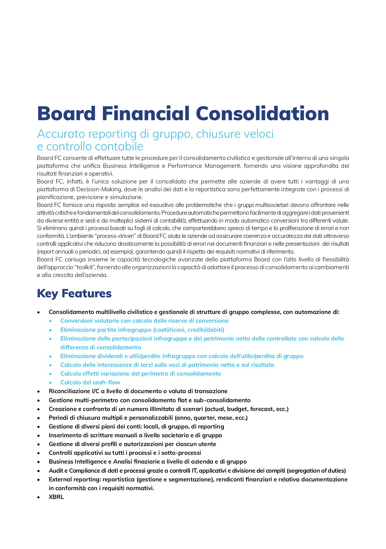 Financial Consolidation   Page 3