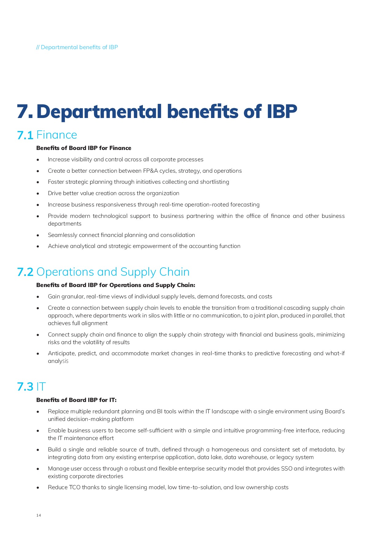 Integrated Business Planning | Page 14