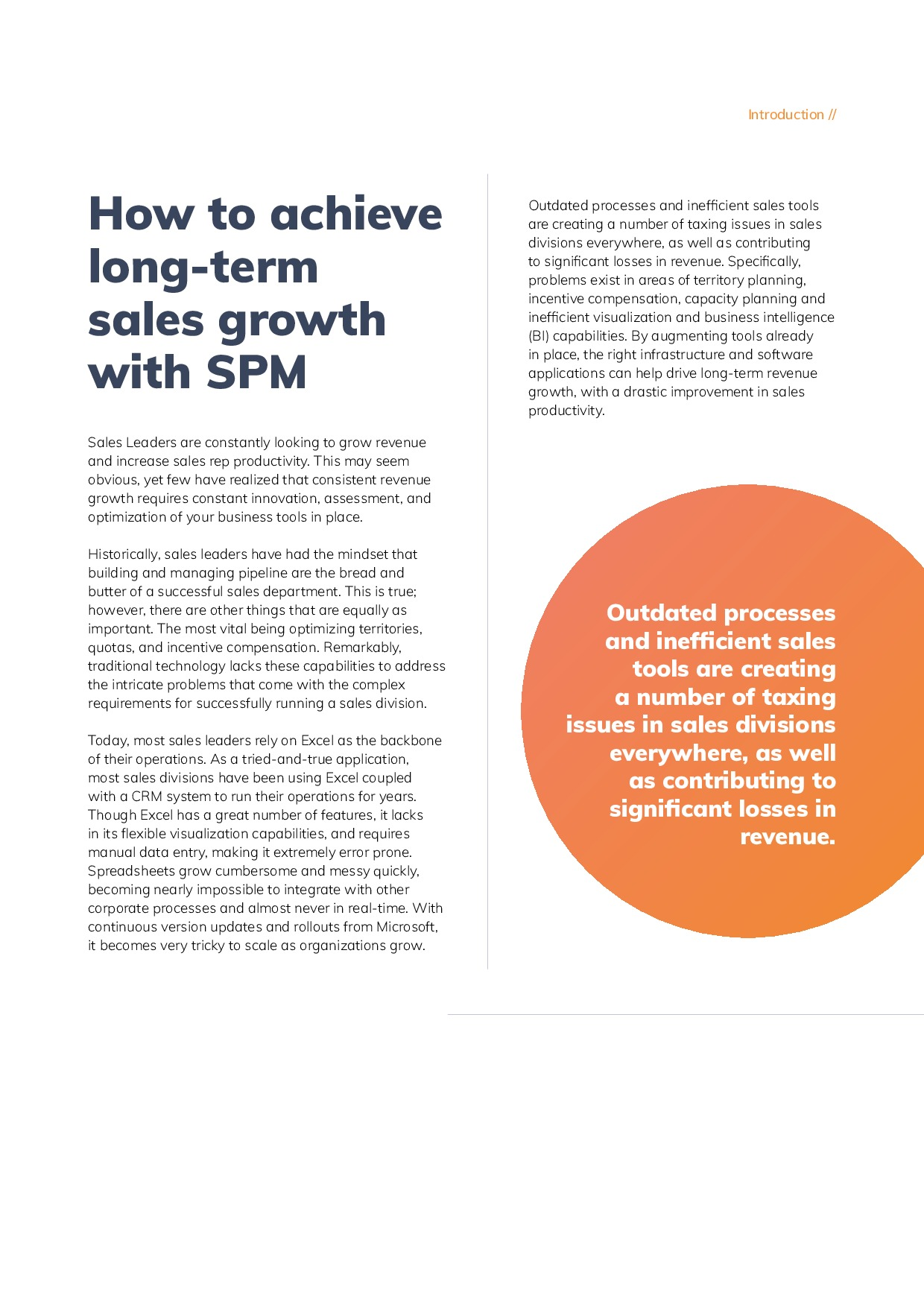 How to achieve long-term sales growth with SPM | Page 3