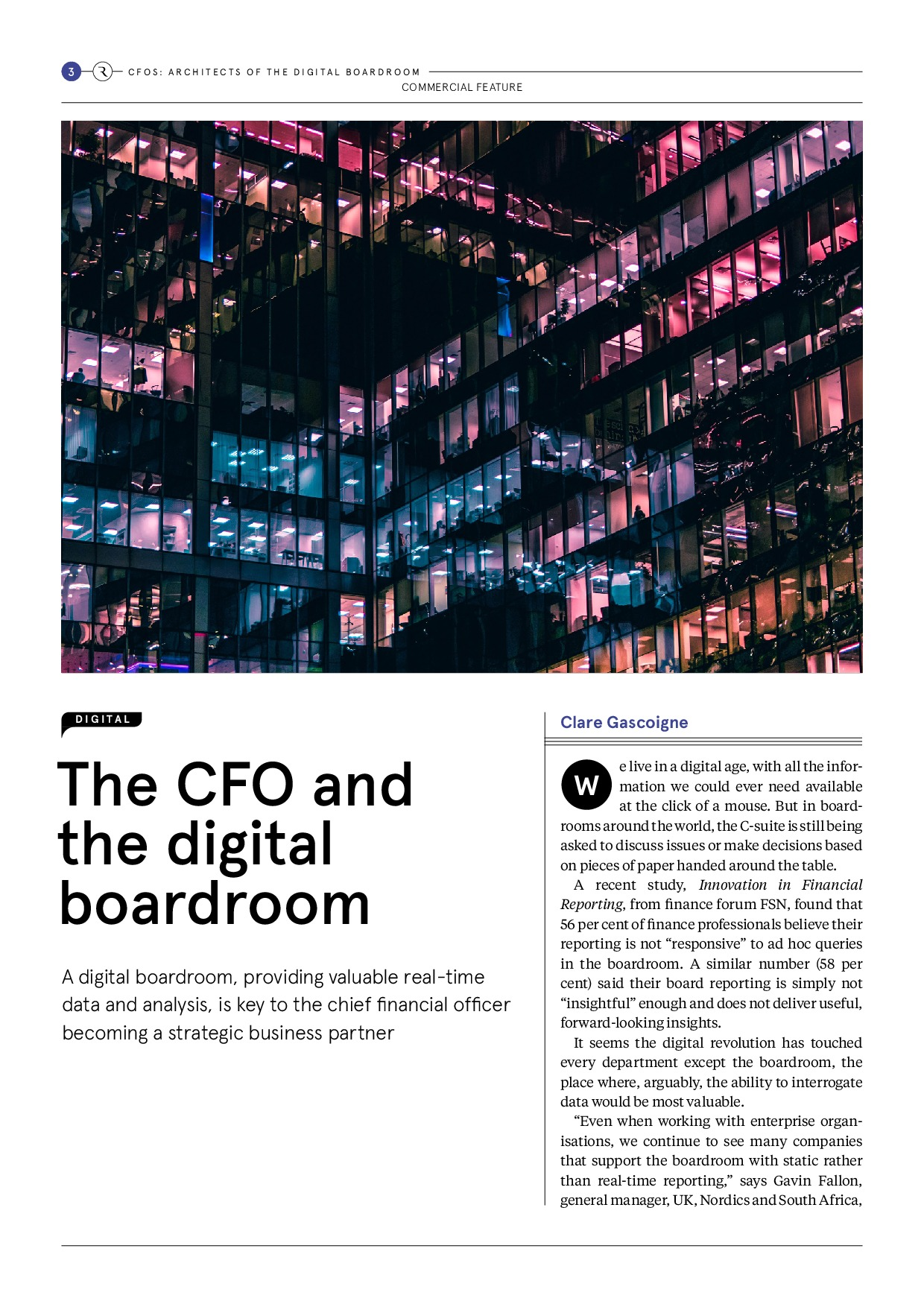 CFOs: Architects of the Digital Boardroom | Page 3