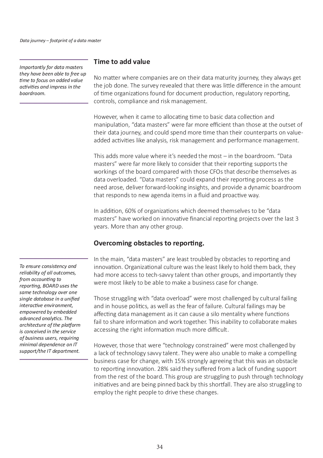 FSN - Innovation in Financial Reporting Survey Asia Pacific | Page 34