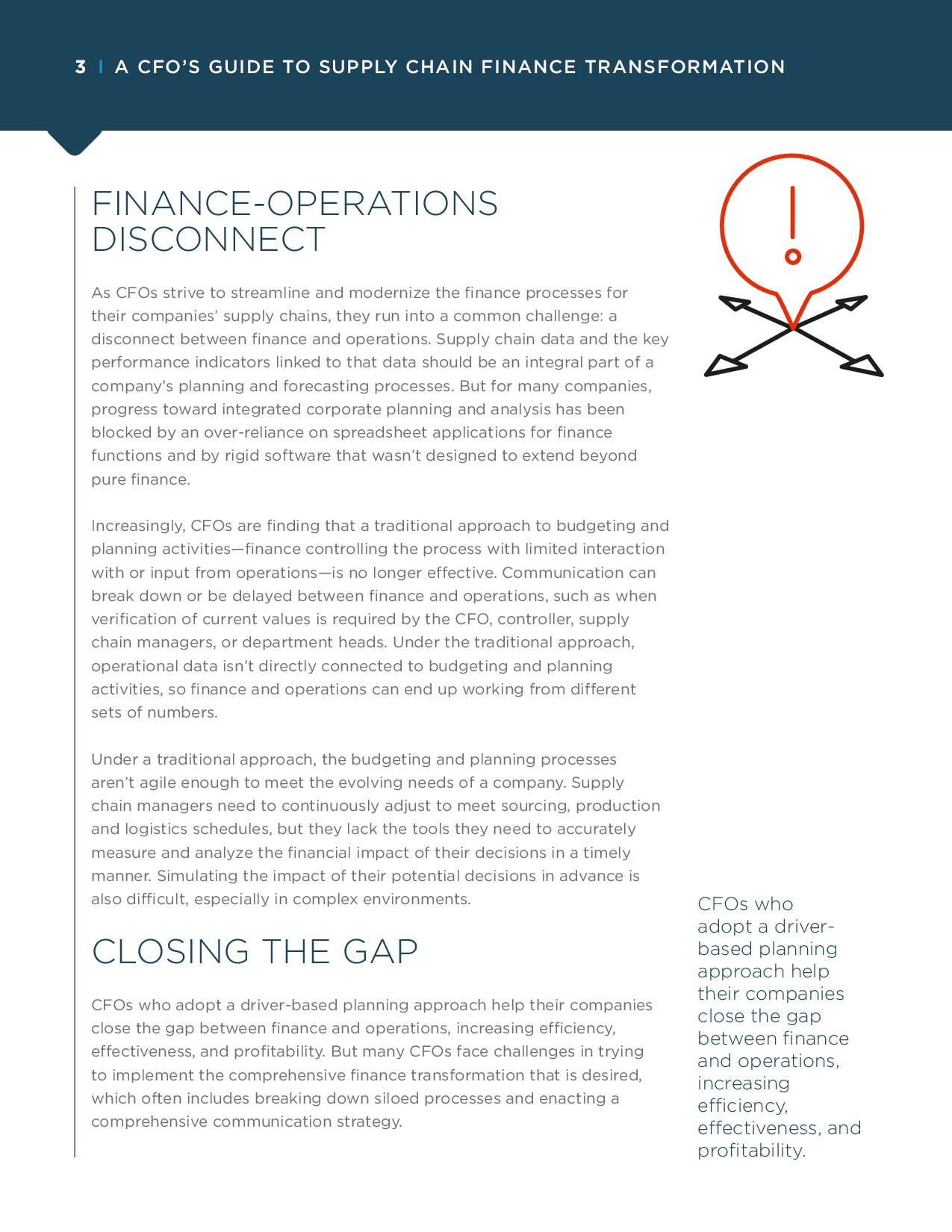 A CFO's Guide to Supply Chain Finance Transformation | Page 3