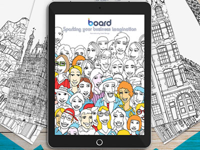 The Board Coloring Book