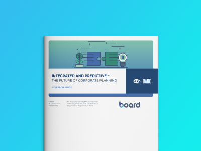 BARC – Integrated and Predictive – The Future of Corporate Planning
