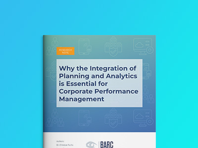 BARC - Why the integration of Planning & Analytics is essential for CPM