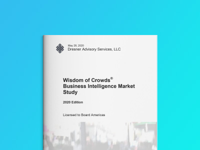 Dresner Advisory - Business Intelligence Market Study 2020