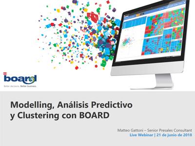 Modelling, Análisis Predictivo y Clustering