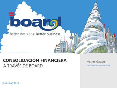 Consolidación Financiera a través de BOARD
