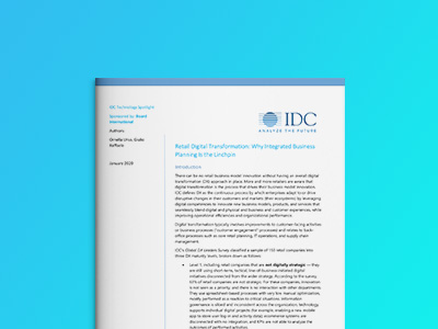 IDC Technology Spotlight: Retail Digital Transformation